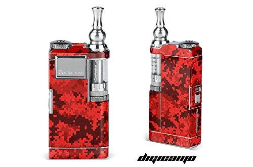 Innokin-iTaste-VTR-Wrap-Vapor-Mods-Skin-Decal-Vaporizer-Sticker-Vape-Mod-Digi-Red