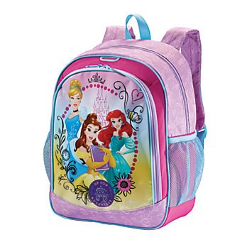 American Tourister Disney Mesh Side Pocket Backpack, Princesses