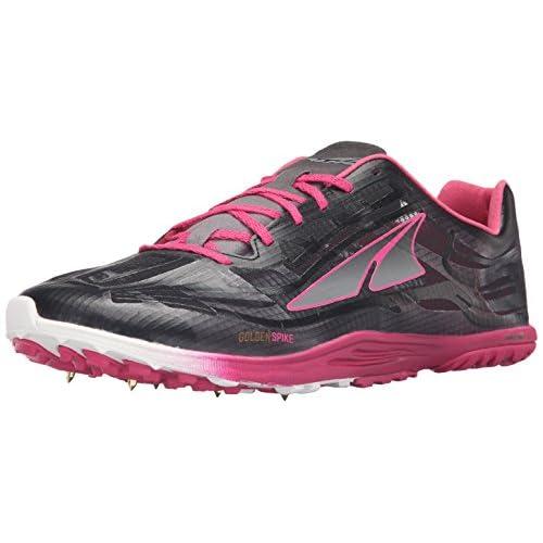 Altra Men's Golden Spike Running Shoe, Black/Diva Pink, 12.5 M US