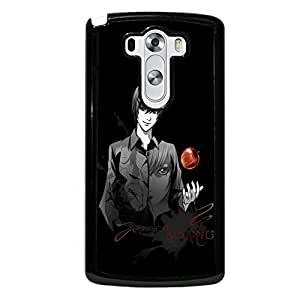 Unique Design(TM) LG G3 Case Cover Ballistic Disney Cartoon Anime Comics Character Death Note Hard Tpu Slim Fit Rubber Hybrid Black Protective Snap on Accessories for Girls