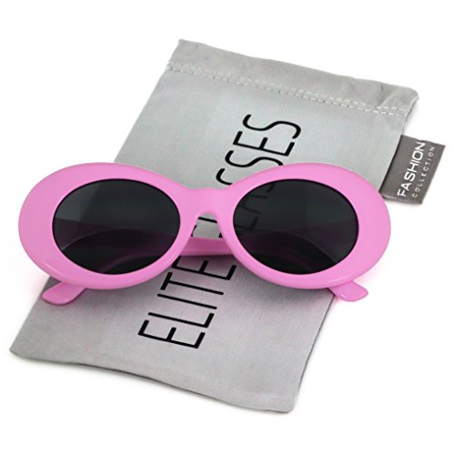 Green Kitchen Jeddah: Clout Goggles Oval Mod Retro Thick Frame Rapper Hypebeast