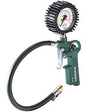 Metabo Miernik ciśnienia powietrza w oponach RF 60 (602233000) karton, ciśnienie robocze: 0,5 – 12 bar, długość węża: 35 cm, waga: 0,45 kg