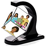 FLOATING ROTATING MAGNETIC PHOTO CUBE FRAME