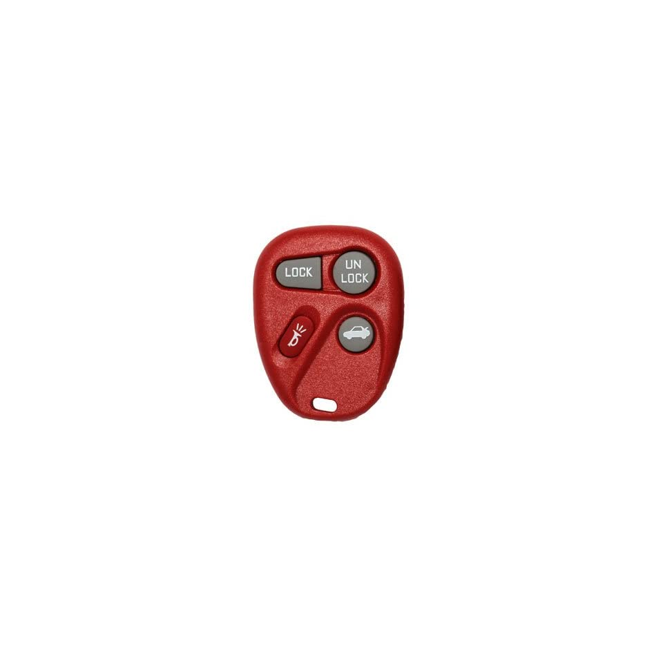 1997 Buick Century Keyless Entry Remote Key Fob With Free Programming and World Wide Remotes Guide   Red