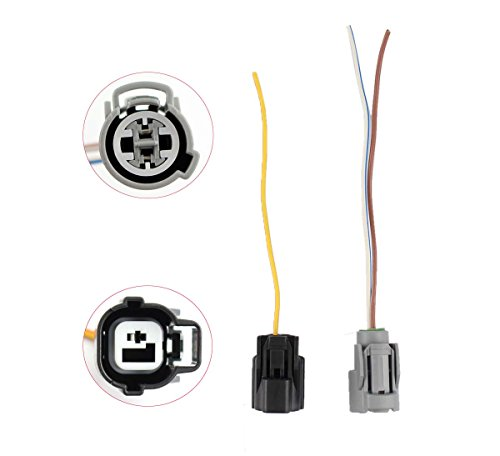 XtremeAmazing VTEC Oil Pressure Switch Solenoid Plug Pigtail Harness Connector For (Honda Civic Swaps)