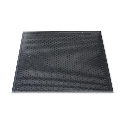 3M Dirt Stop Scraper Mat, Polypropylene, 48 x 72, Chestnut Brown