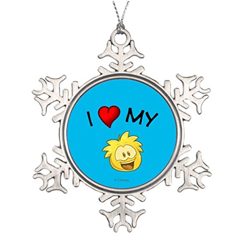 Travel Along Xmas Trees Decorated Puffle Waterford Christmas Snowflake Ornaments