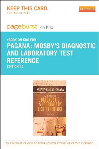 Mosby's Diagnostic and Laboratory Test Reference - Elsevier eBook on Intel Education Study (Retail Access Card), 12e