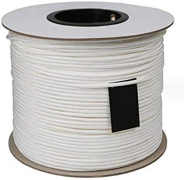 クライミングロープ、5mm 屋外の耐久の登山ロープの家の火の救助の安全耐久ロープの頑丈なロープ,White,25m