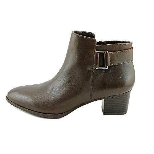 Fashion DARK Closed Leather ROAST Womens Alfani Ankle Toe Adisonn Boots O8YTwAq
