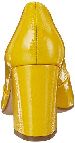 Yellow8100 8100 Högl Mujer de 10 para Zapatos Amarillo Tacón 3 7505 qxTwfRxv