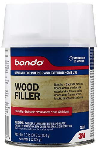 Bondo 20082 Home Solutions Wood Filler, 1 Quart