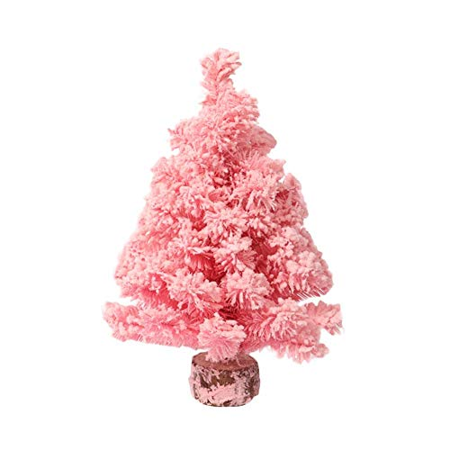 Blueyouth DIY Christmas Tree - Pink Cedar Snow