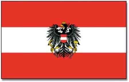 Bandera, diseño de Austria con águila: Amazon.es: Deportes y aire ...