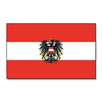 Flaggenking österreich Flaggefahne Mit Wappen Weiß 150 X 90 X 1
