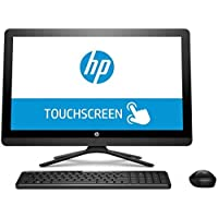 2017 HP 23.8 Full HD Touchscreen All-in-One Computer, Intel Quad-Core Pentium J3710 1.6GHz, 8GB RAM, 2TB HDD, DVDRW, USB 3.0, HDMI, 802.11ac WIFI, Bluetooth, Windows 10, Black(Certified Refurbished)