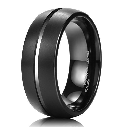 King Will Tungsten Carbide Wedding