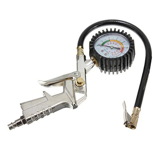 JenNiFer Reifenf/üller Zifferblatt Manometer Luftkompressor F/ür Auto Motorrad Truck Bike