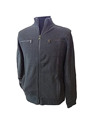 Calvin Klein Men's Lifestyle Full Zip Sweatshirt Jacket
