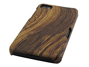 Hard Plastic Back Cover Case for Blackberry Z10 (Brown Wood Swirl)Accessory Only (Device NOT Included)No Retail Packaging