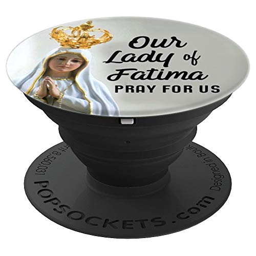 Our Lady Of Fatima Prayer - PopSockets Grip and Stand for Phones and Tablets