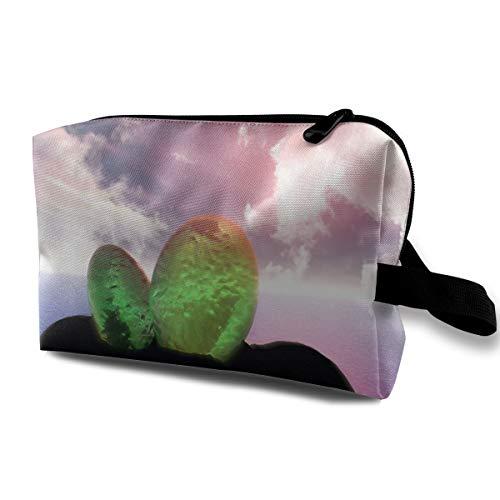 Storage Bag Travel Pouch Dragon Egg Purse Organizer Power Bank Data Wire Cosmetic Stationery -