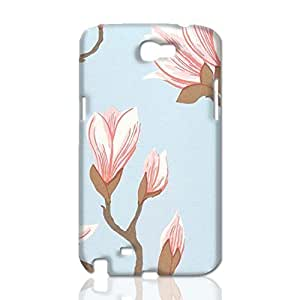Large magnolia printed 3D Rough Skin, fashion image custom, hard 3D , New For SamSung Galaxy S3 Case Cover By Codystore