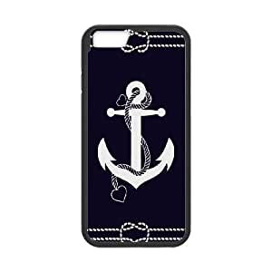 """FOR Apple Iphone 6,4.7"""" screen Cases -(DXJ PHONE CASE)-Vintage Anchor-PATTERN 17"""