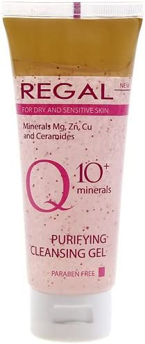 Regal Q10+ - Gel Limpiador para Piel Seca y Sensible