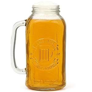 Bar Originale Mixology - Jarra de cerveza con forma de tarro de mermelada (2 L)
