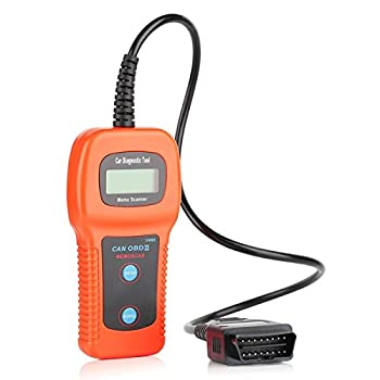 Xtool U480 LCD Display CAN-BUS OBD2 Scan Tool Car Diagnostic Scanner Trouble Code Reader for OBD II Vehicles - Orange