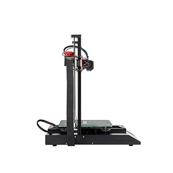 WOL 3D Printer CR-10S Pro with Auto-Level, Touch Screen, Capricorn PTFE and Bond Tech Extruder Dual Gears (300x300x400 mm)