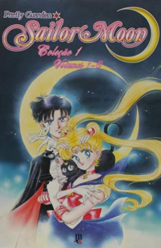 Sailor Moon - Volume de 1 à 6. Caixa
