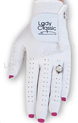 Lady Classic Women's Nail and Ring Golf Glove - Size Small