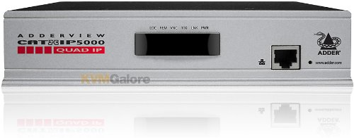 AdderView CATxIP 5000, 16-Ports w/8 USB CAMs, Rack-Mount