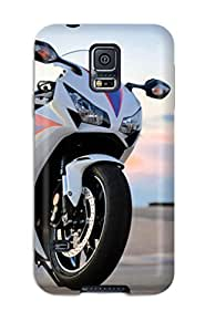 Quality CaseyKBrown Case Cover With Honda Cbr 1000rr 2012 Nice Appearance Compatible With Galaxy S5