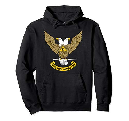 32nd Degree Mason Hoodie 32 Masonic Scottish Rite Up Shirt