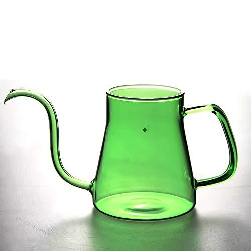Borosilicato Pyrex Glass Jarra Cafetera Tetera Cafetera 600ml ...