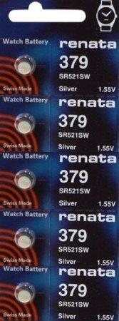 379 Watch battery - Strip of 5 Batteries
