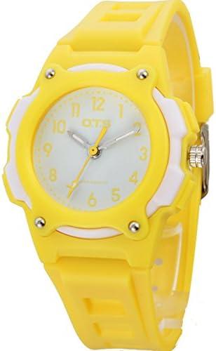 スポーツデジタル腕時計女の子防水かわいいwatch-i