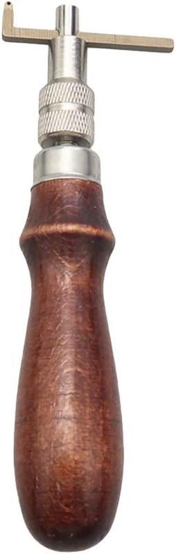 Healifty Borde de Cuero Skiving U V Costura Puntada Groover Trabajando Mano Herramienta de Artesan/ía Bricolaje Biselador de Borde Afilado Kit de Herramientas de Cuero