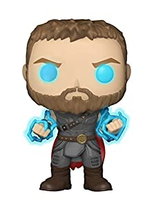 Funko Pop Marvel Ragnarok Thor with Odin Force Collectible Figure, Multicolor