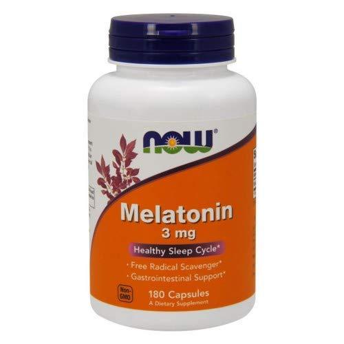 Melatonin 3 mg 180 Capsules (Pack of 2)