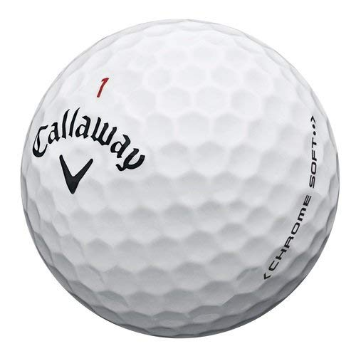 Callaway Chrome Soft Golf Balls, Prior Generation, (One Dozen)