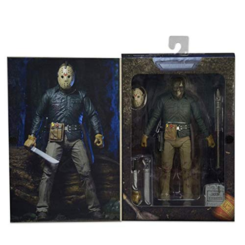 BODAN NECA Action Figure Friday The 13th Jason Voorhees Action Figure / Statues Ultimate Part 6 Horror Collection Gifts - PVC 7
