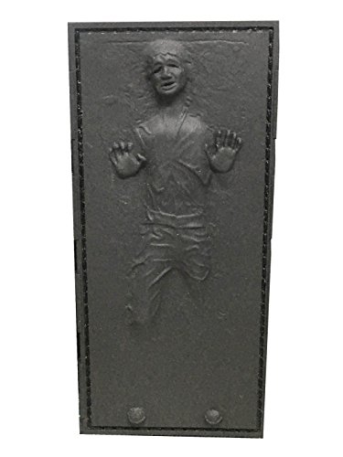 Sole Velcro - Tactical Outfitters Han Solo in Carbonite 3D Embossed PVC Morale Patch