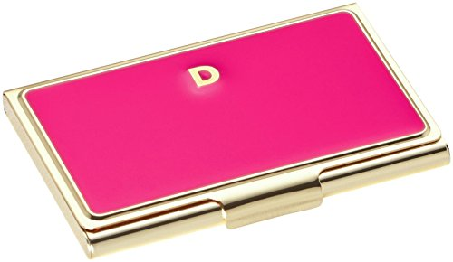 Kate Spade New York Initial Business Card Holders, D, Pink