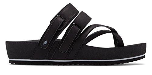 制限するテニスパイント(ニューバランス) New Balance 靴?シューズ レディースサンダル Traveler Sandal Black ブラック US 10 (27cm)