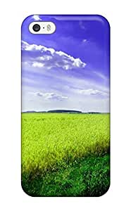 Anti-scratch And Shatterproof Field Earth Nature Other Phone Case For Iphone 5/5s/ High Quality Tpu Case