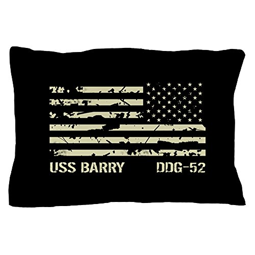 Standard Barry Pillowcase - CafePress - USS Barry - Standard Size Pillow Case, 20